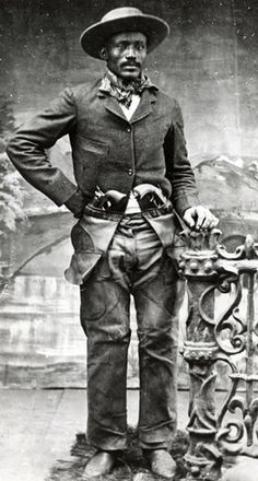 Black Outlaws, Cowboys, and Lawmen of the Old Wild West #cowboysandcowgirls