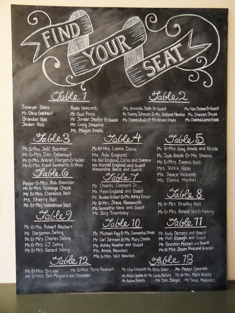 Chalkboard wedding seating chart wedding pinterest seating