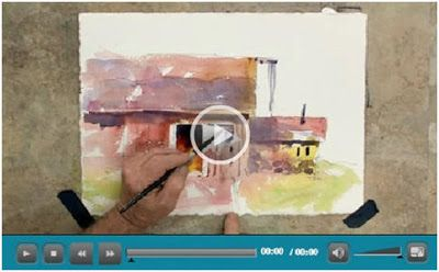 Free Watercolor How To Video Tutorials Art Lessons Watercolor