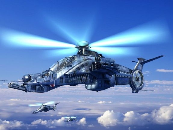 Future Attack Helicopter Wallpaper Military Modeler Scale Models