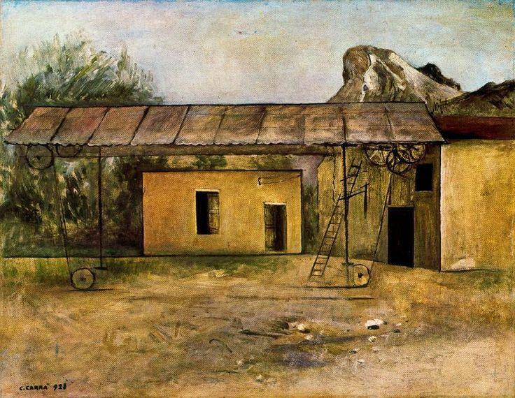 Carrà - La segheria dei marmi (1928)