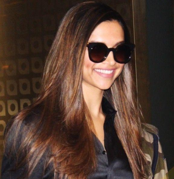 Deepika Padukone in black sun glasses | Deepika padukone ...