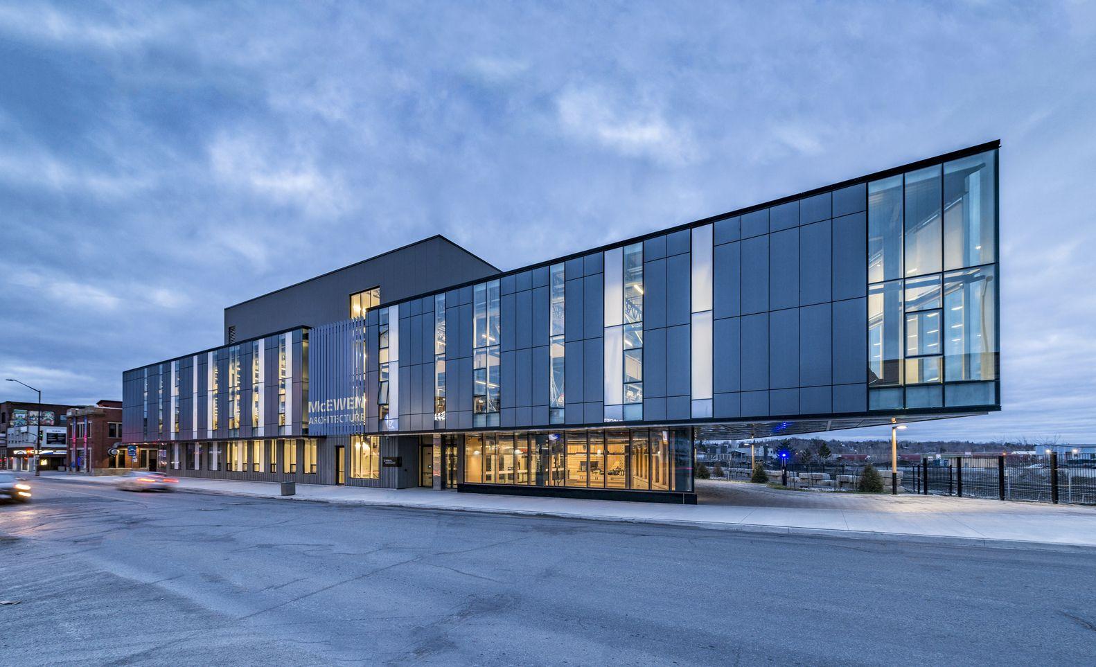 Gallery Of Mcewen School Of Architecture Lga Architectural Partners 9 School Architecture Architectural Practice Architecture