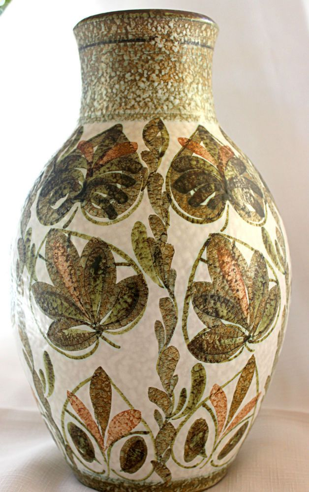 Attractive Denby Vintage Glyn Colledge Decorative Vase Ceramics