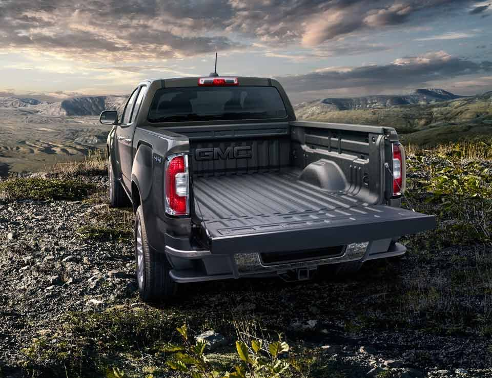 2015 Canyon Small Pickup Truck With Available Spray On Bed Liner