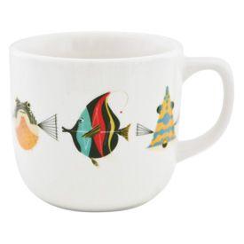 Charley Harper Fish Mug 12 oz