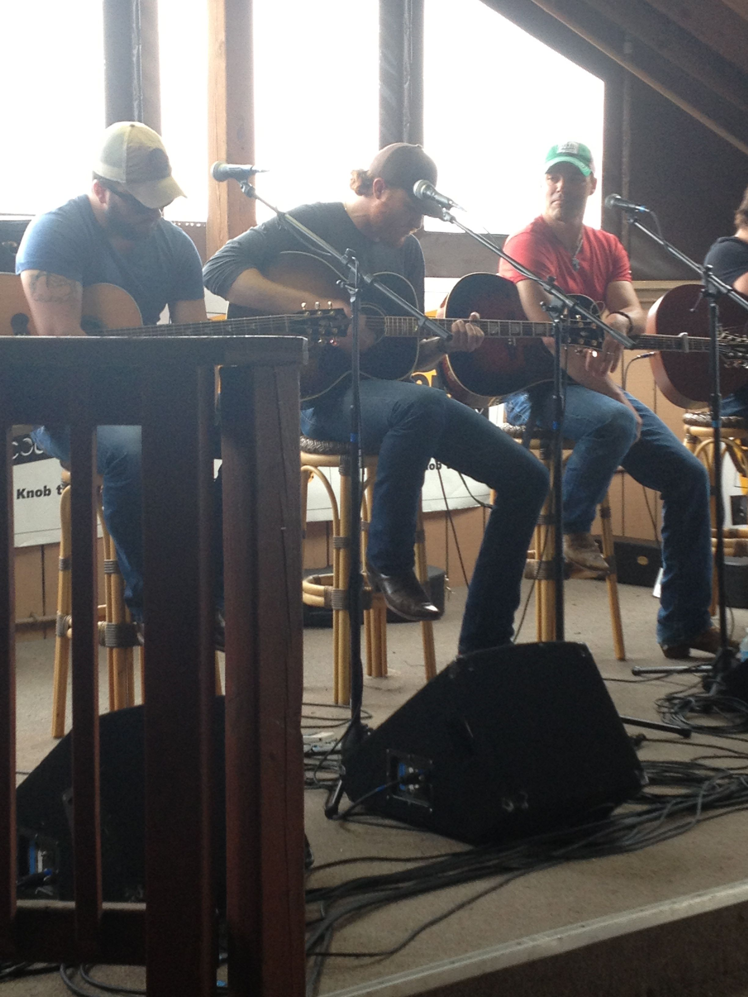 Tyler Farr James Wesley Eric Paslay Performing At Buck Wild