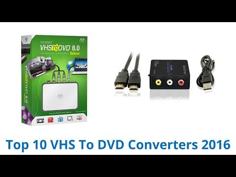 How To Transfer VHS tapes to your computer