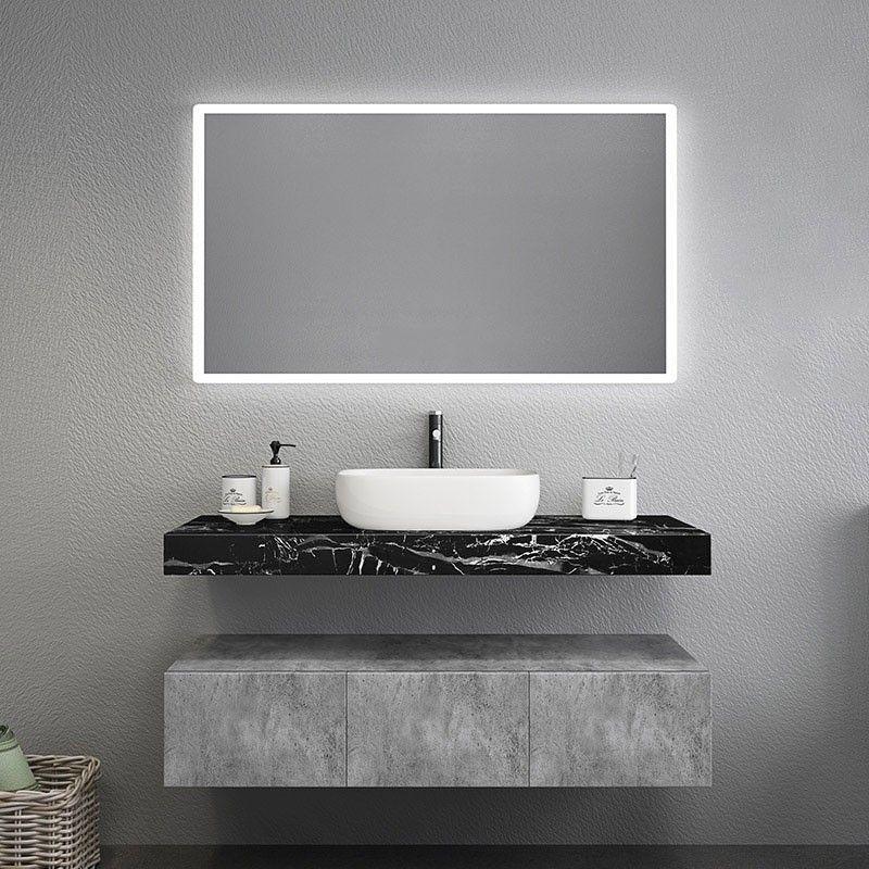 Modern 48 In 2020 Floating Bathroom Vanities Modern Bathroom