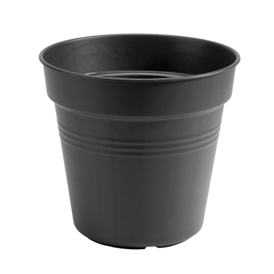 3 Stuks Bloempot Green Basics Kweekpot 24 Cm Living Black Elho In