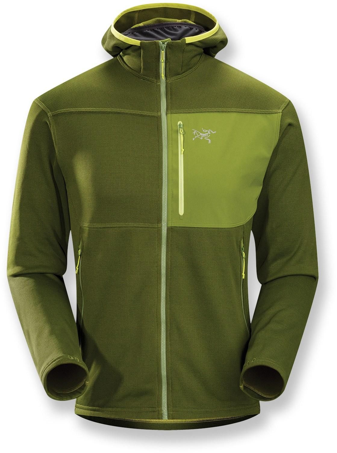 e741aab868 The Arc'teryx Fortrez Hoodie is made from Polartec® Power Stretch® fleece  forfour-way stretch. #REIGifts
