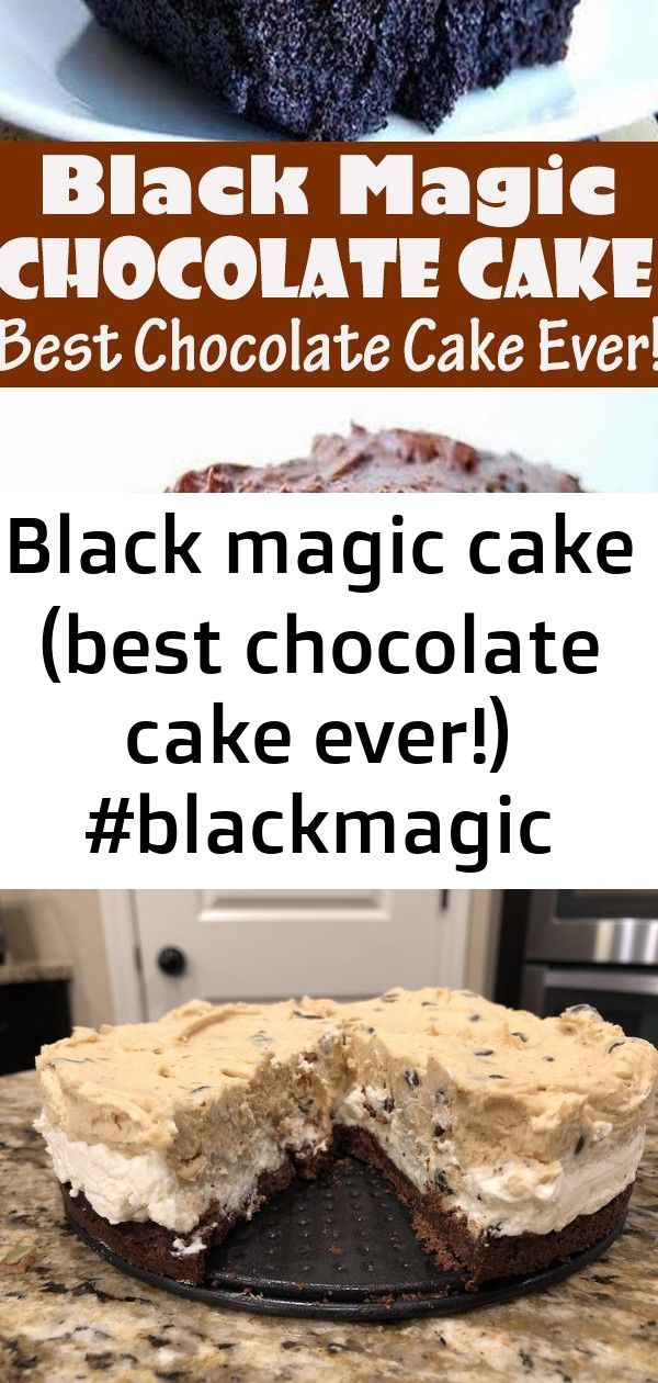 Black magic cake (best chocolate cake ever!) #blackmagic #cake #(best #chocolate #cake #ever!) #de 3 #pumpkinspiceketocoffee