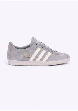Adidas Originals Gazelle OG capacitadores sólidos calzado gris / blanco