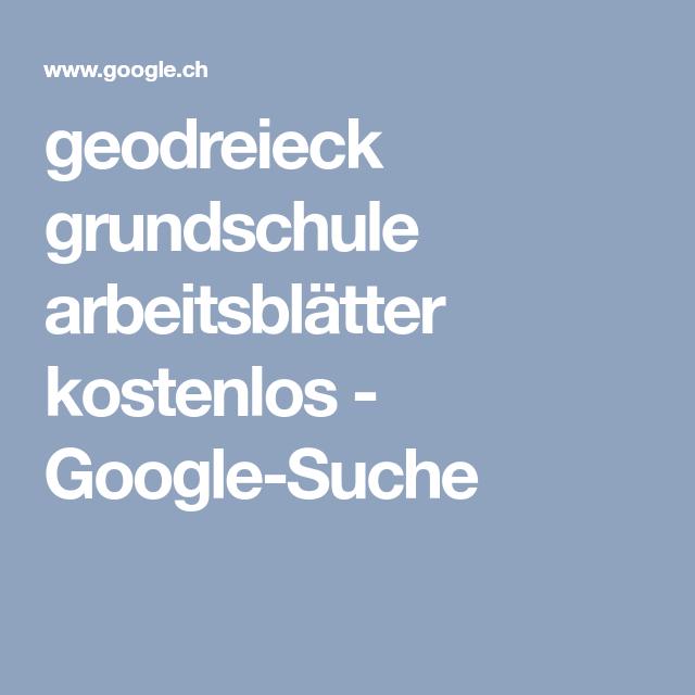 geodreieck grundschule arbeitsblätter kostenlos - Google-Suche ...