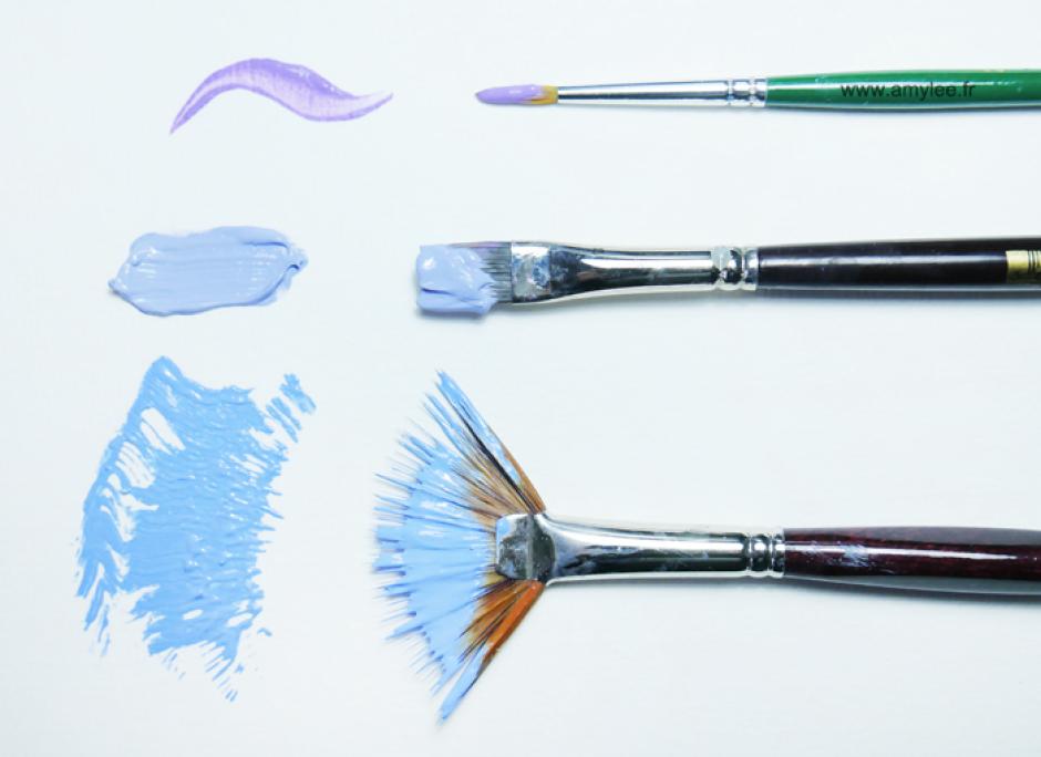 20 manières d'utiliser la peinture acrylique par Amylee