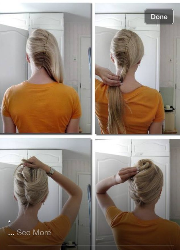 French Roll Hair Styles Short Hair Styles Long Hair Styles