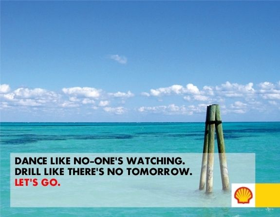 Shell Advertisement by Tom. Click the up Button to give Tom a chance to win an exciting trip to Shell's Arctic drilling platform!!!
