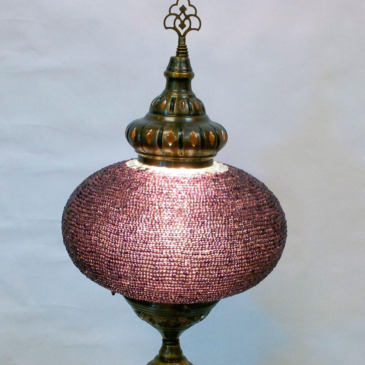 Long Mosaic Table Lamp,mosaic beads