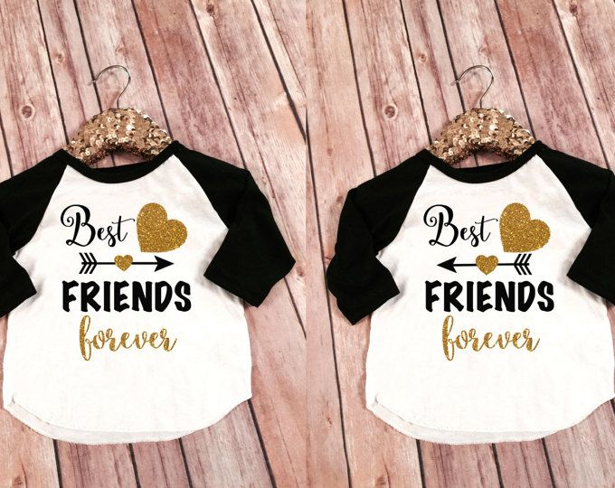 Mejor Amigos Infantil Camisas Mejores Amigos Para Siempre