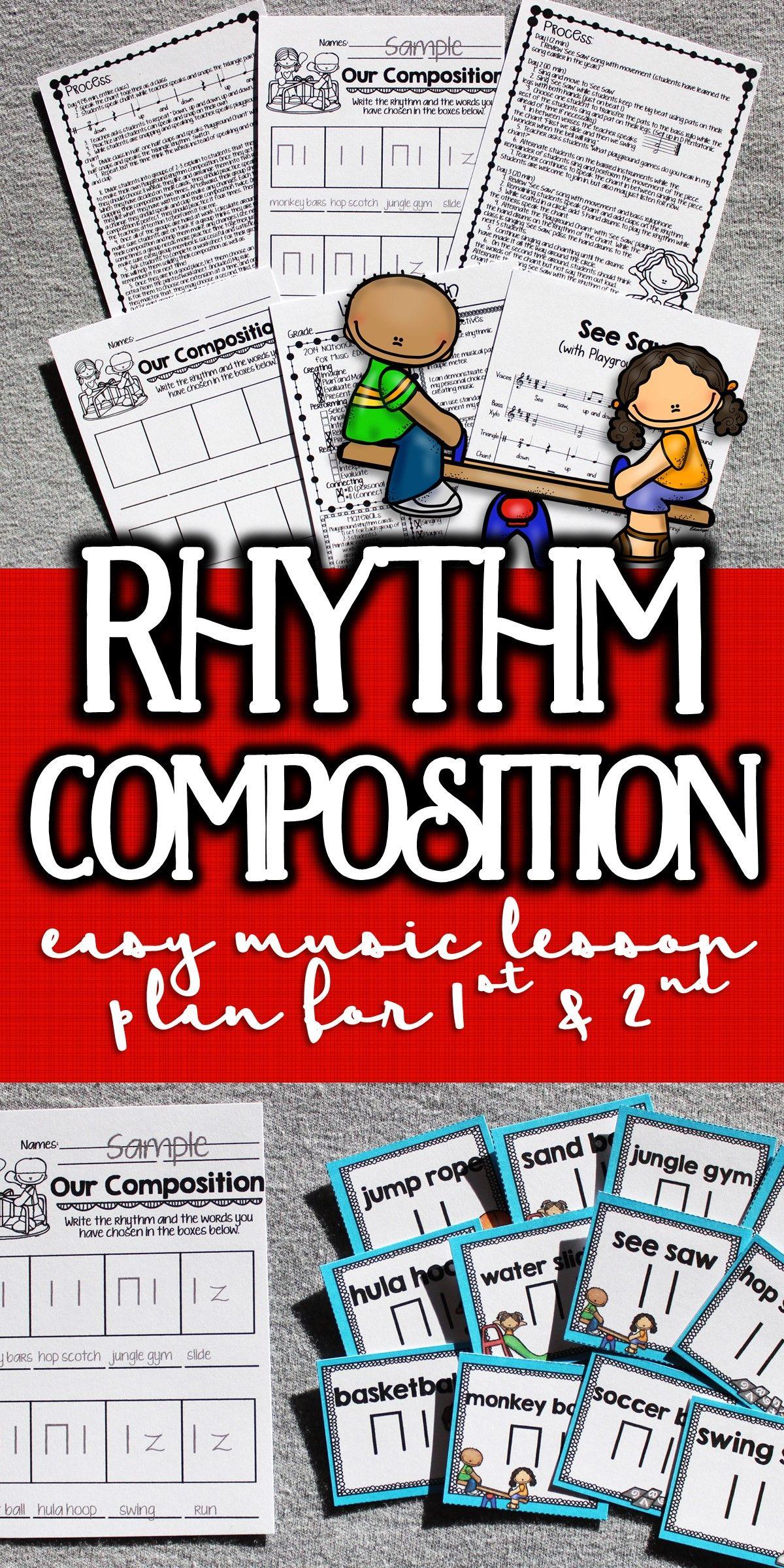 See Saw Orff Arrangement And Rhythm Composition