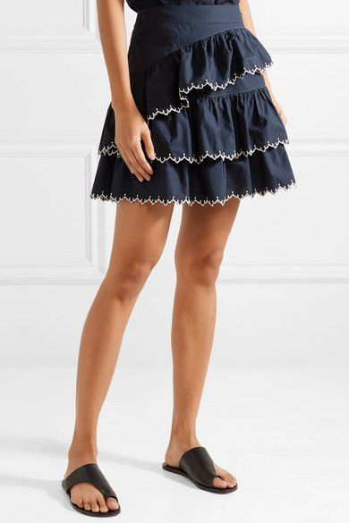 Visit New Cheap Online Cheap Eastbay Ella embroidered cotton skirt Ulla Johnson Top Quality Cheap Price Discount Visit lt1EJEjPU