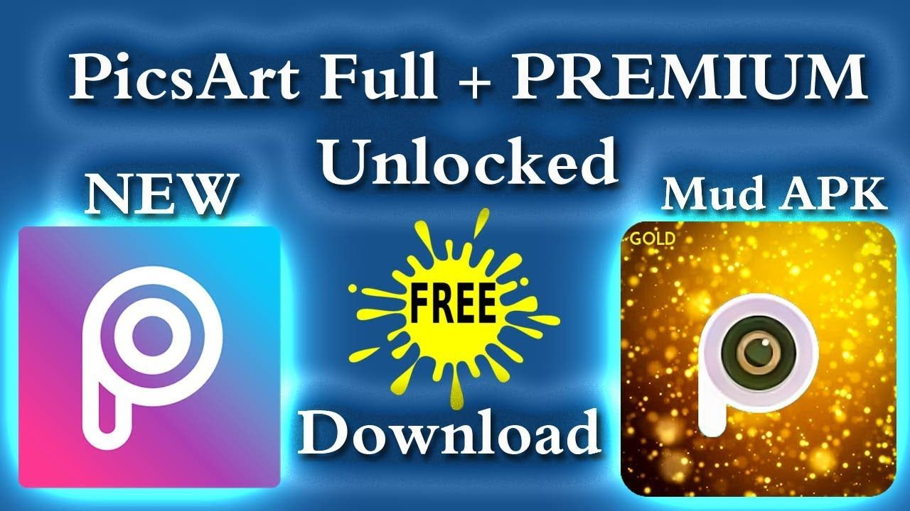 PicsArt Editing App Modded APK Full + PREMIUM Unlocked Free