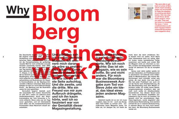 Lessons Learned at Bloomberg Businessweek