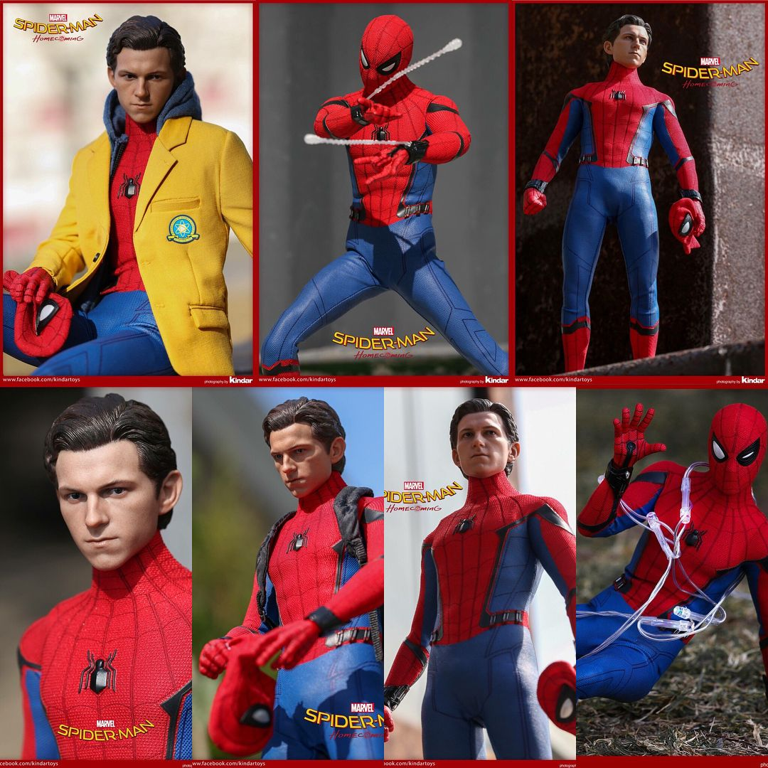 Some Amazing Pictures Of The Hot Toys Spiderman Homecoming Figure