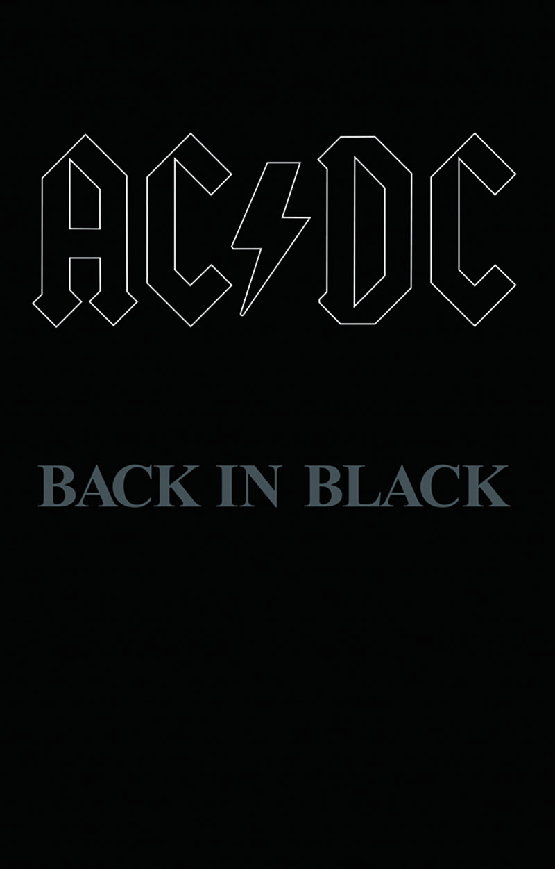 Ac Dc Back In Black Music Album Vinyl World Acdc Wallpaper Band Wallpapers Band Posters
