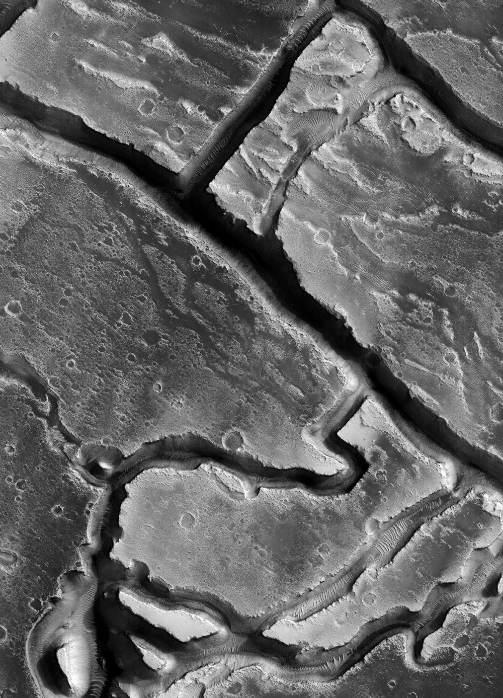 Stunning Photos Of The Red Planet In Black And White Planets Mars Hubble