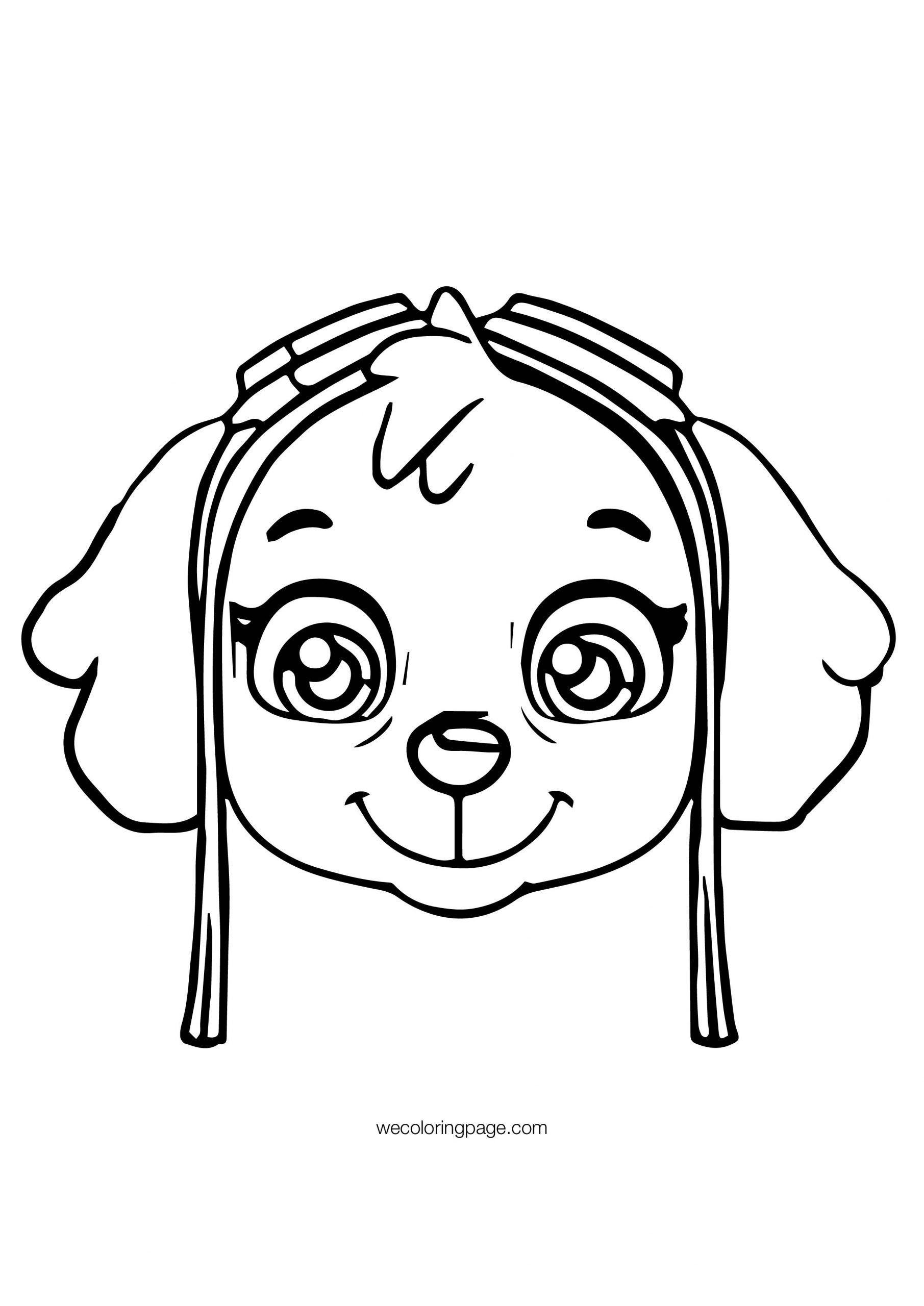Skye Paw Patrol Coloring Page Youngandtae Com Paw Patrol Coloring Pages Paw Patrol Coloring Skye Paw