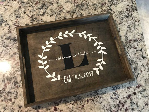 Fabulous Decorative Personalized Tray Custom Serving Tray Wooden Dailytribune Chair Design For Home Dailytribuneorg