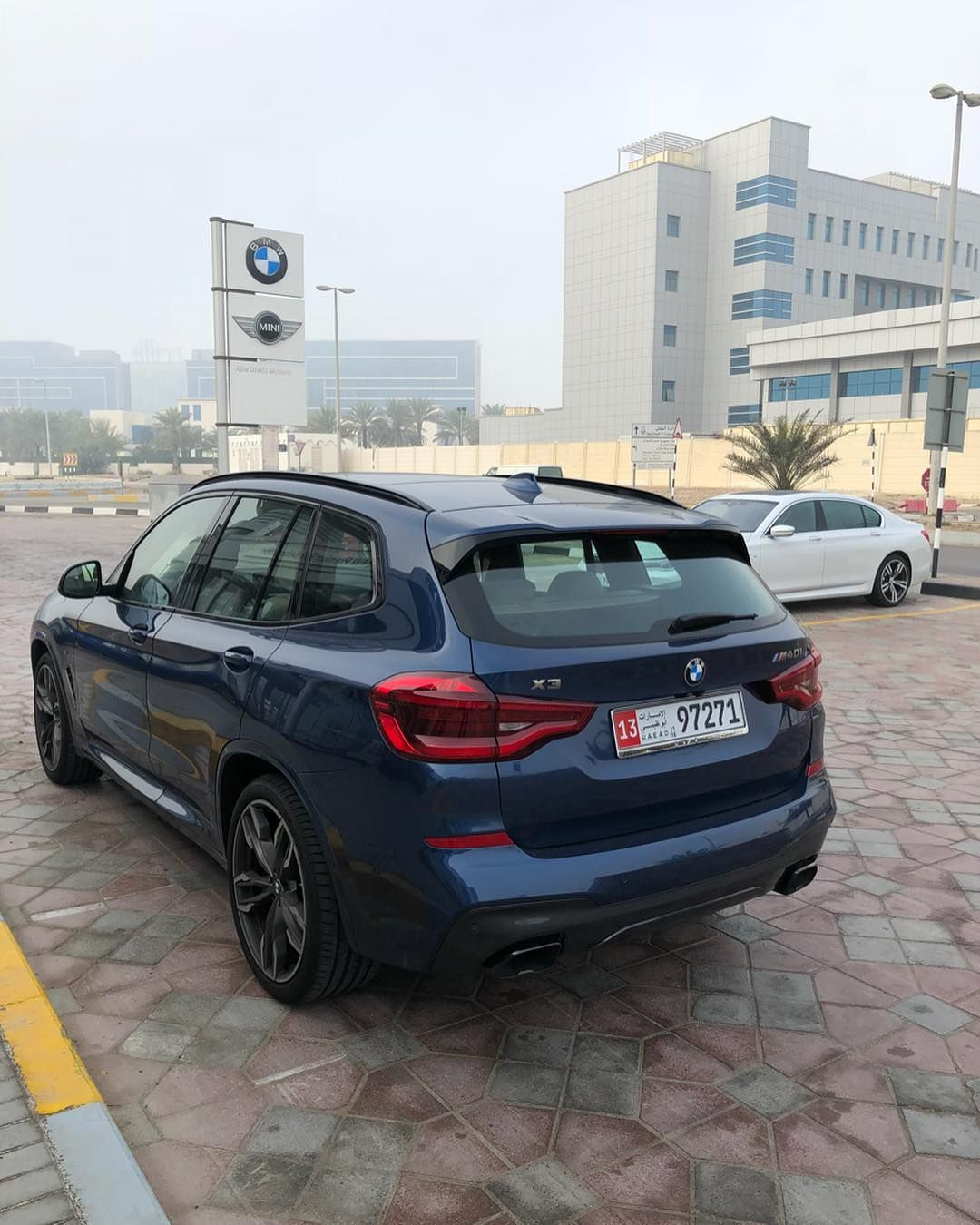 Bmw X3 M40i Phytonic Blue