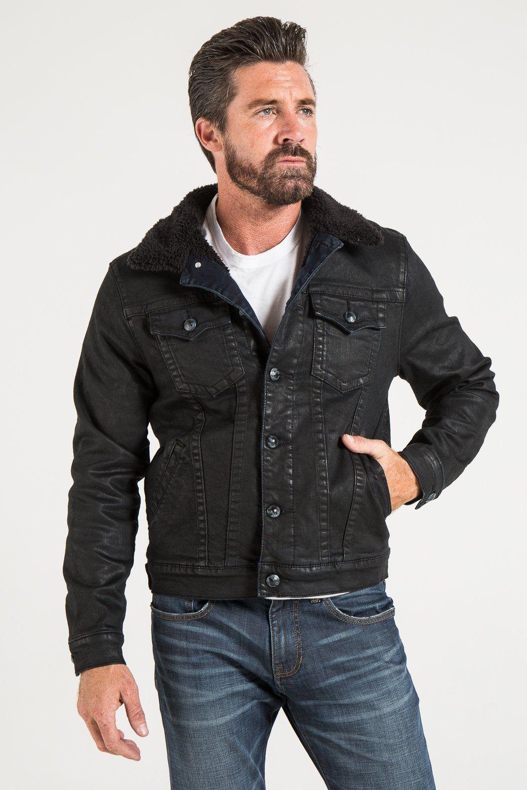 Classic sherpa denim jacket Sherpa denim jacket, Mens