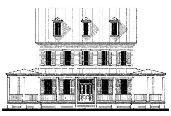 Elevation First Street Manor Variation Plan Allison Ramsey – Allison Ramsey Garage Plans