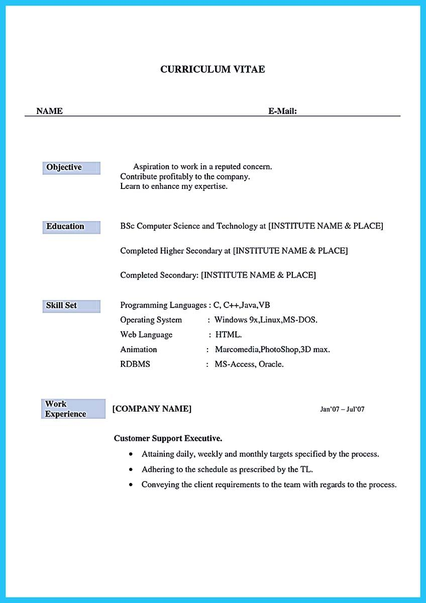 Cool Impressing The Recruiters With Flawless Call Center Resume, · Resume  Templates