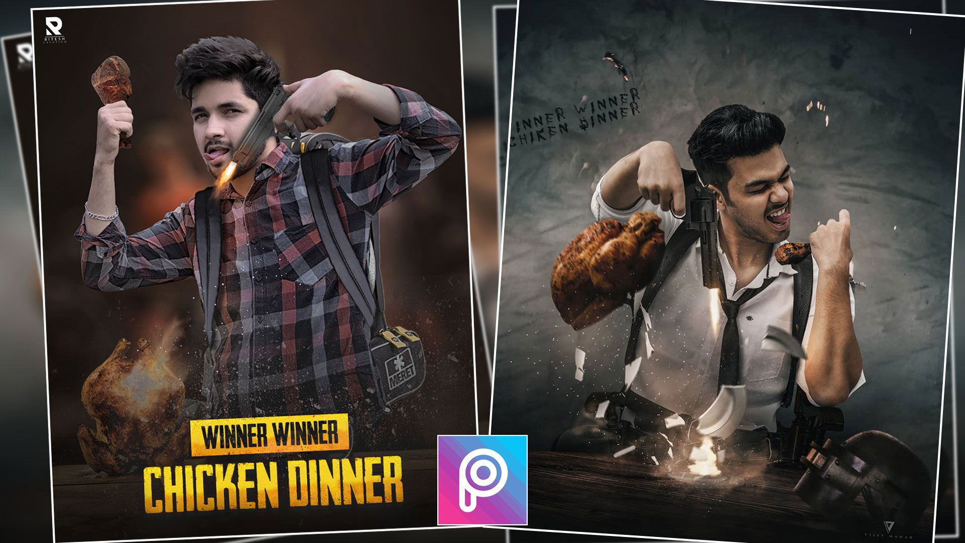 Pubg Mobile Editing Background Picsart And Photoshop In 2019