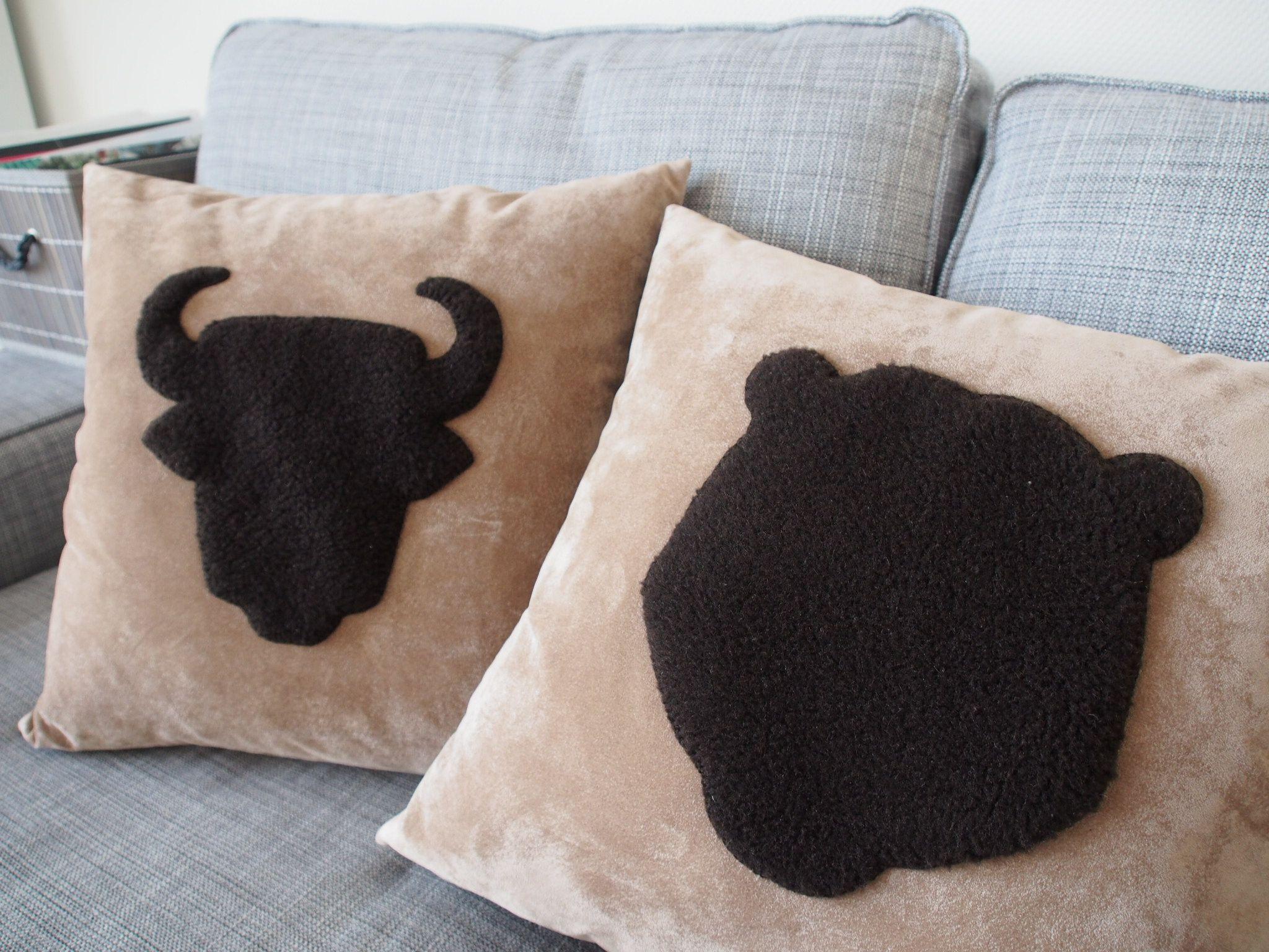 DYI handmade cushion covers #cushions #interior #handmade