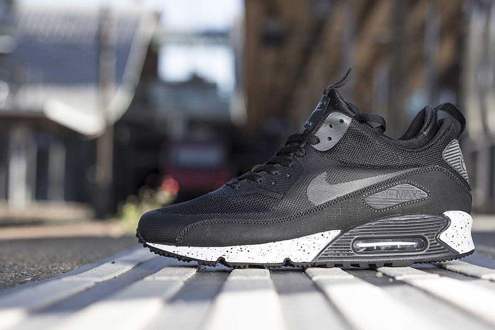 Nike Air Max 90 Mid Sneaker Boot NS Dark Blue