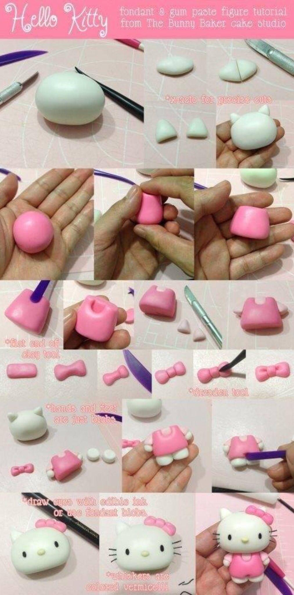 tutoriel pour r 233 aliser la figurine hello en p 226 te 224 sucre ou en p 226 te d amande recettes 224