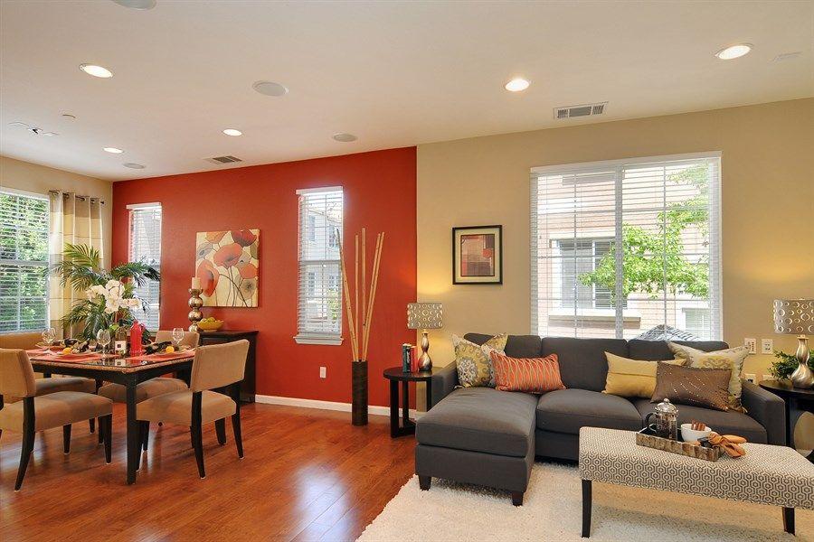 Multi Color Living Room Wall - Modern home design ideas