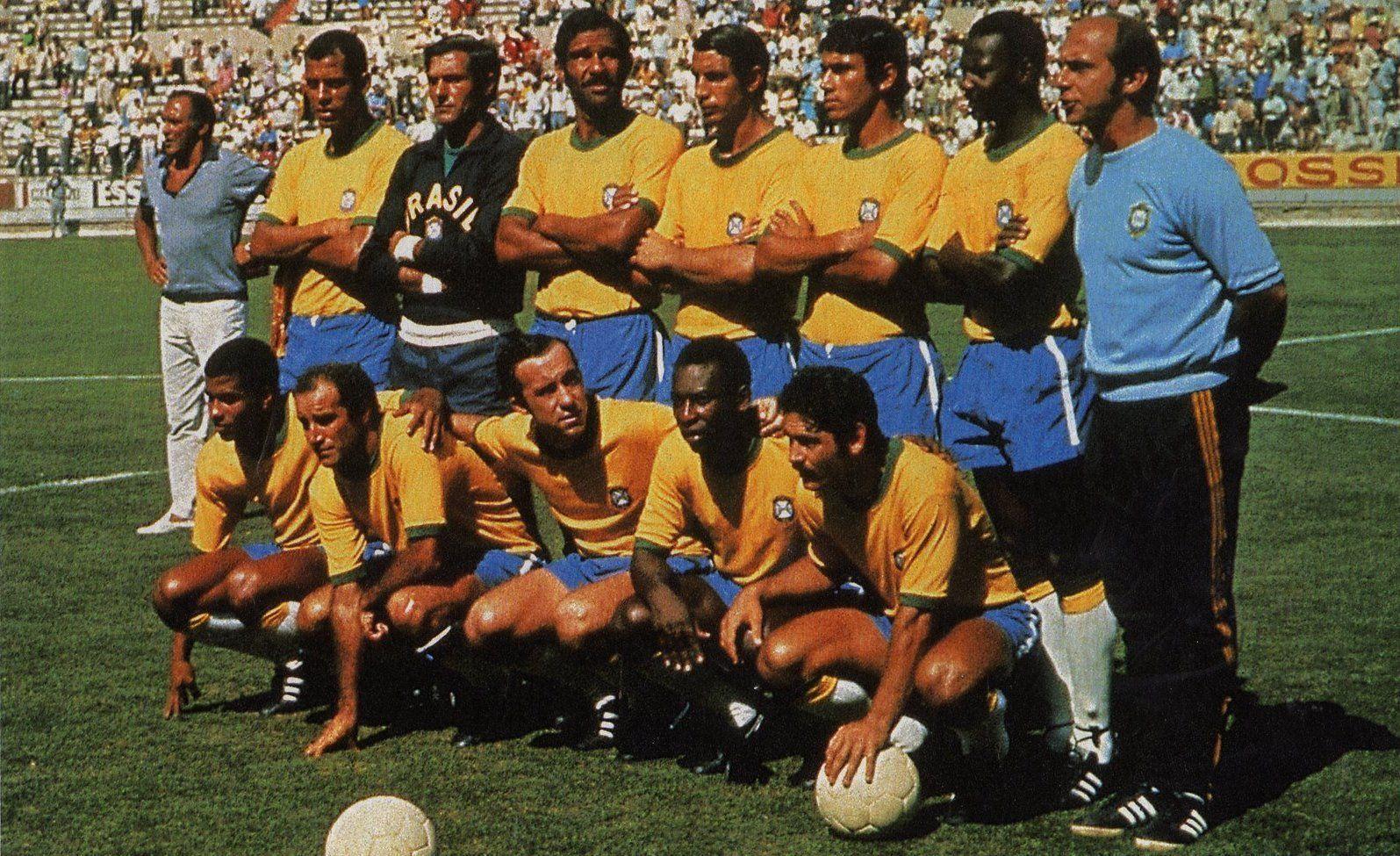 SELEÇÃO BRASILEIRA DE 70 | Seleção brasileira, Seleção brasileira ...