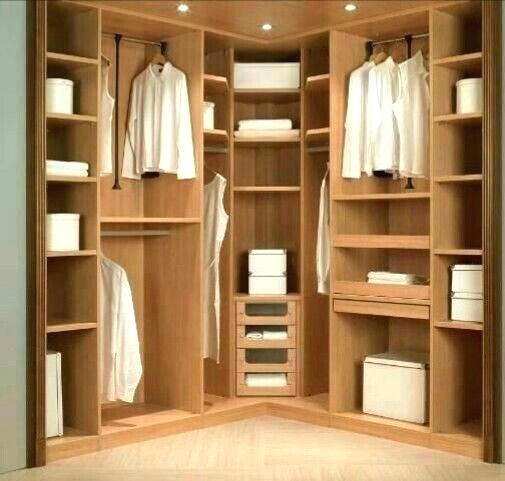 Walk In Closet Storage Corner Closets Good Space In Walk Closet Storage Ideas Build A Closet Closet Decor Corner Closet