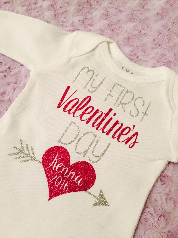 dd578a08c My first Valentine s Day! Baby girl. First Valentine. Baby boys ...