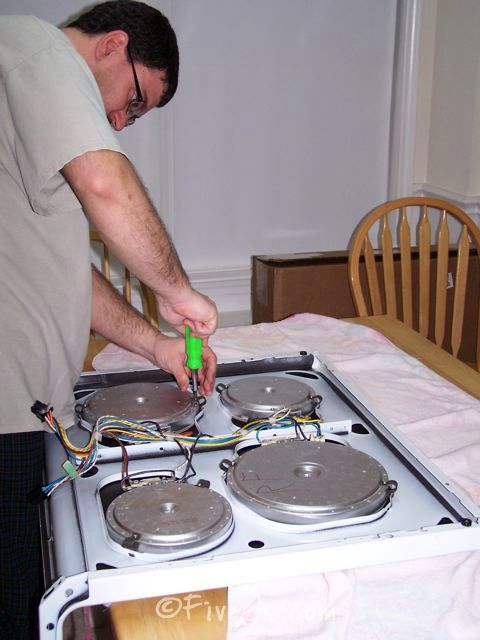 How To Replace A Cracked Ceramic Cooktop Part 2 Ceramic Stove