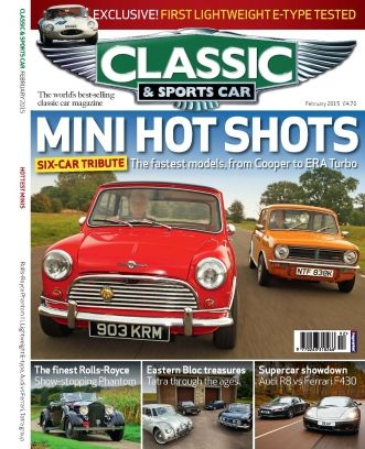 Classic & Sports Car February 2015 edition - Read the digital edition by Magzter on your iPad, iPhone, Android, Tablet Devices, Windows 8, PC, Mac and the Web.
