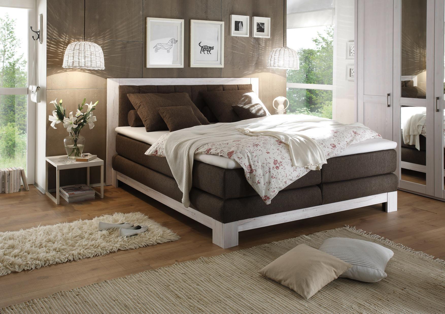 boxspringbett von carry home schlafzimmer pinterest. Black Bedroom Furniture Sets. Home Design Ideas