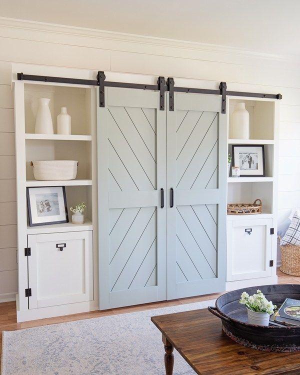 DIY Double Barn Door images