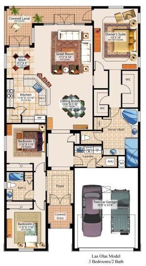 Small Floor Plan Dream House Plans House Plans Floor Plans