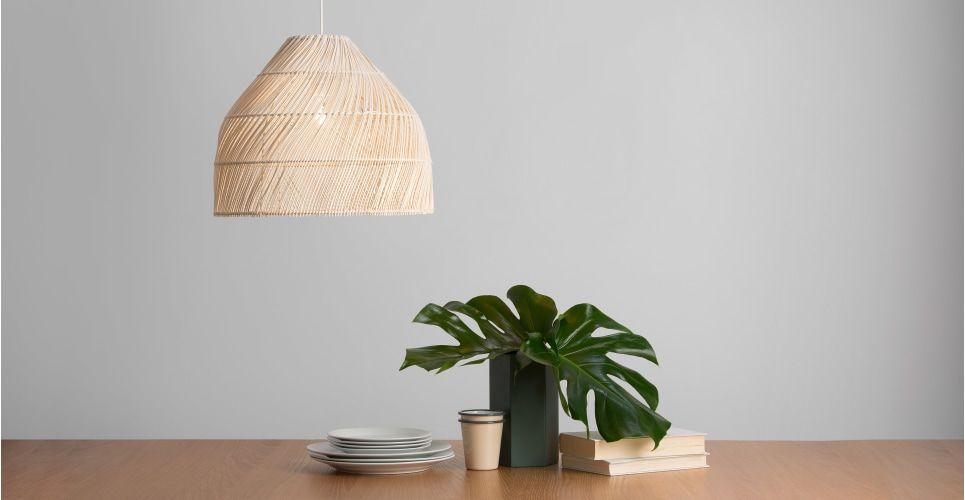 Lampenschirm Schlafzimmer ~ Java lampenschirm rattan design leuchten rattan und modernes